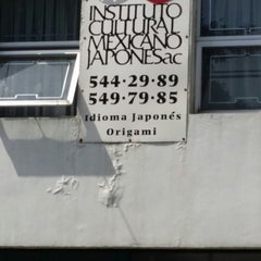 Photo taken at Instituto Cultural Mexicano Japonés by Ita N. on 5/17/2014