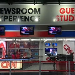 Photo taken at CNN Newsroom by Carlo P. on 7/23/2014