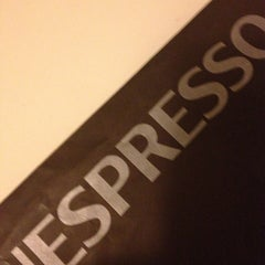 Photo taken at Nespresso Boutique by Matilde D. on 12/20/2012