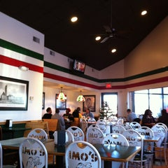 Photo taken at Imo's Pizza by Angie on 12/21/2012