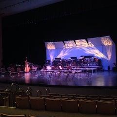 Photo taken at Santa Clarita Performing Arts Center by Ricardo A. on 9/21/2014