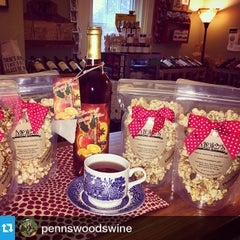 Photo taken at Penns Woods Winery by MoJo's Pop Co. on 11/7/2014