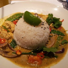 Photo taken at Wagamama by Damir S. on 2/21/2014