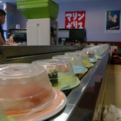 Photo taken at Marinepolis Sushi Land by Brian S. on 6/21/2014