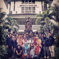 Photo taken at Universitas Brawijaya by Robi H. on 6/10/2015