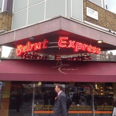 Photo taken at Beirut Express Edgware Rd by Chris O. on 10/8/2013
