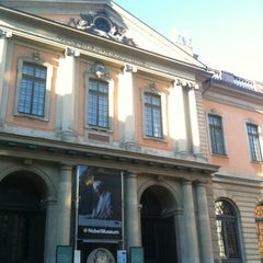 Photo taken at Nobel Museum by Janelle R. on 3/16/2013