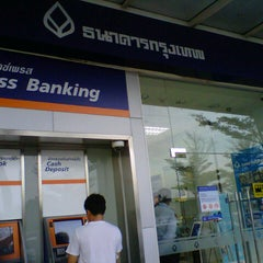 Photo taken at ธนาคารกรุงเทพ (Bangkok Bank) by Nong O. on 12/2/2012