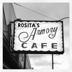 Photo taken at Rosita's Armory Cafe by Russell B. on 5/27/2013