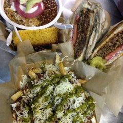 Photo taken at Santa Monica Food Truck Lot by Alex K. on 11/19/2014