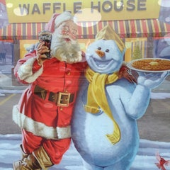 Photo taken at Waffle House by Keith B. on 12/29/2014