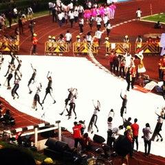 Photo taken at สนามศุภชลาศัย (Supachalasai Stadium) by punpun s. on 2/2/2013