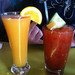 Photo taken at Snooze by Jessica P. on 12/29/2012