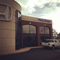Photo taken at West Broad Honda by Rich D. on 10/7/2013