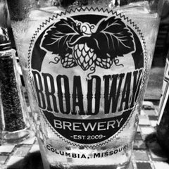 Photo taken at Broadway Brewery by Aaron M. on 4/21/2013