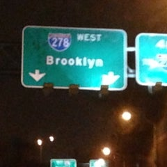 Photo taken at Brooklyn/Queens Expressway (BQE) by Scott A. on 2/6/2013