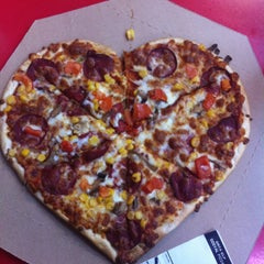 Photo taken at Domino's Pizza by Sema K. on 2/14/2015
