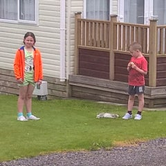 Photo taken at Tralee Bay Holiday Park by Martin H. on 7/6/2015