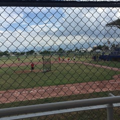 Photo taken at Polideportivo Tigres UANL by Juliia L. on 6/16/2015