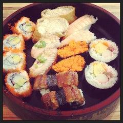 Photo taken at Sakae Sushi by Marini M. on 4/12/2013