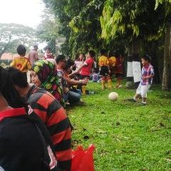 Photo taken at Lap. Brigif Linud 17 Cijantung by Aden G. on 3/28/2015