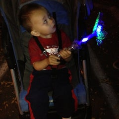 Photo taken at Glendale Glitter And Glow Block Party by Alyssa P. on 11/25/2012