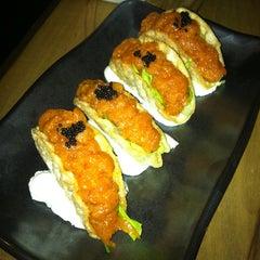 Photo taken at Ronin Sushi Bar by Mira U. on 2/1/2013