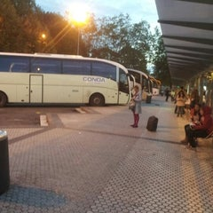 Photo taken at Estación de Autobuses de Donostia/San Sebastián by Gustavo B. on 10/13/2012