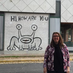 Photo taken at Hi How Are You? Mural by PattyBraga on 3/16/2015
