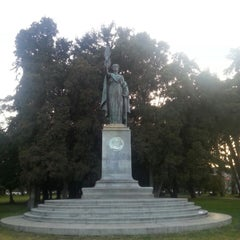 Photo taken at William McKinley Statue by John Christian H. on 5/12/2014