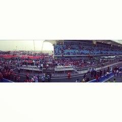 Photo taken at Bahrain International Circuit by Mohamed S. on 4/24/2013