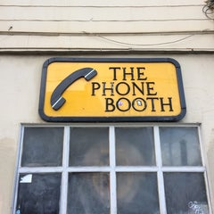 Photo taken at The Phone Booth by Jonathan V. on 10/25/2014
