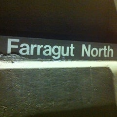 Photo taken at Farragut North Metro Station by Vahid O. on 10/31/2012