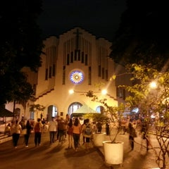 Photo taken at National Shrine of Our Mother of Perpetual Help by Mark Lester C. on 5/15/2013