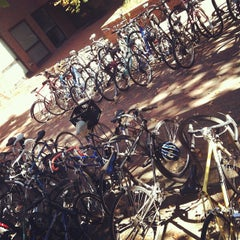 Photo taken at Gillings School of Global Public Health by Casey H. on 10/24/2012