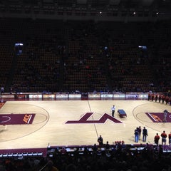 Photo taken at Cassell Coliseum by Paul B. on 3/7/2015