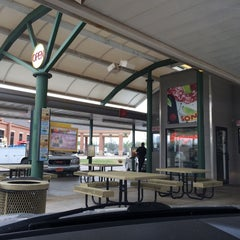 Photo taken at SONIC Drive In by Hugh on 4/17/2014