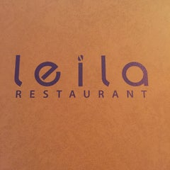 Photo taken at Leila Restaurant by Milly B. on 4/24/2015