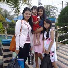 Photo taken at Hairos Indah Waterpark by finnodh p. on 9/17/2014