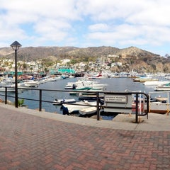 Photo taken at Avalon Harbor by Angelica on 8/19/2014