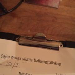 Photo taken at Cajsa Warg by Tony C. on 3/10/2015