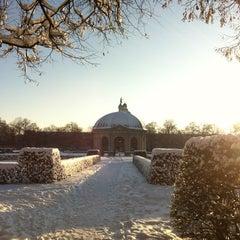 Photo taken at Hofgarten by Stephanie W. on 12/12/2012