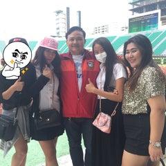 Photo taken at สนามศุภชลาศัย (Supachalasai Stadium) by TheFlame E. on 7/16/2015