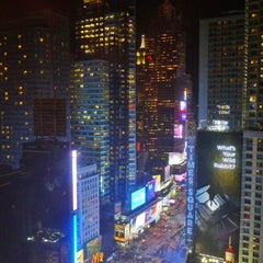 Photo taken at Crowne Plaza Times Square Manhattan by Rei B. on 3/6/2013