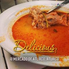 Photo taken at Mercado de Atlixco by Eduardo D. on 3/3/2013