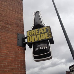 Photo taken at Great Divide Brewery by shachar h. on 10/12/2012