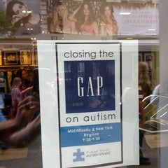 Photo taken at Gap by Peter P. on 9/29/2012