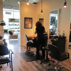 Photo taken at Tigers Den Aveda Salon by Tigers Den Aveda Salon on 9/25/2013