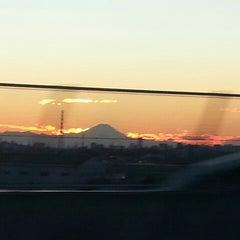 Photo taken at 三郷JCT by Hiroyuki @. on 12/29/2013