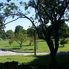 Photo taken at St. Albans Memorial Park by Tonya M. on 8/14/2014